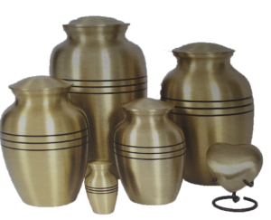 Traditional Urns - Brushed Bronze